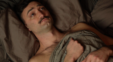 "Sean Donovan as ""Olivier"" / Still from « Les Animaux sentimentaux » trailer - Shot in NYC by Kaz PS / produced by Cédric Duroux © All rights reserved"